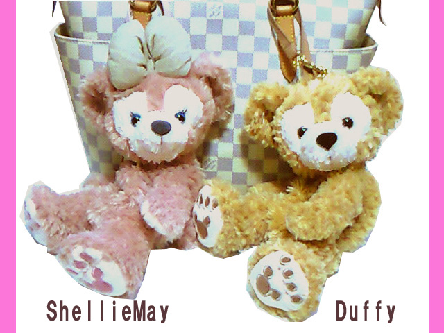 【ディズニーシー限定】Duffy(ダッフィー)/ShellieMay(シェリーメイ)♪激レアぬいぐるみポーチ★ふっくら可愛いお顔厳選!!ディズニーリゾート 【DISNEY】