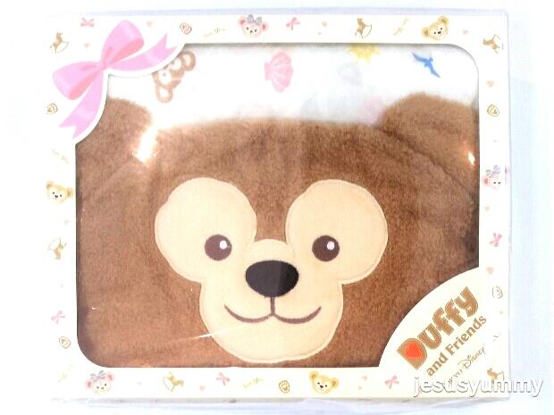 ダッフィー おくるみ フード付きタオル 出産祝い ベビー ギフトセット 東京ディズニーリゾートお土産袋つき 【DISNEY】