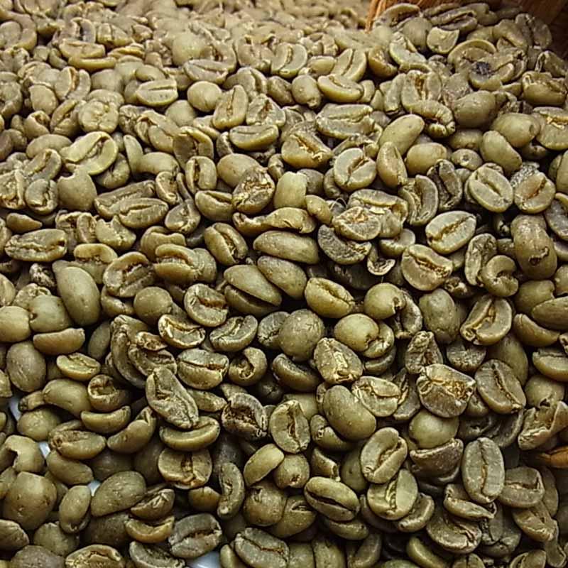 生豆コーヒー【カフェイン97%以上カット】デカフェ カフェインレスコーヒー(バリアラビカ 神山) (5kg入)ノンカフェイン 生豆:【HLS_DU】