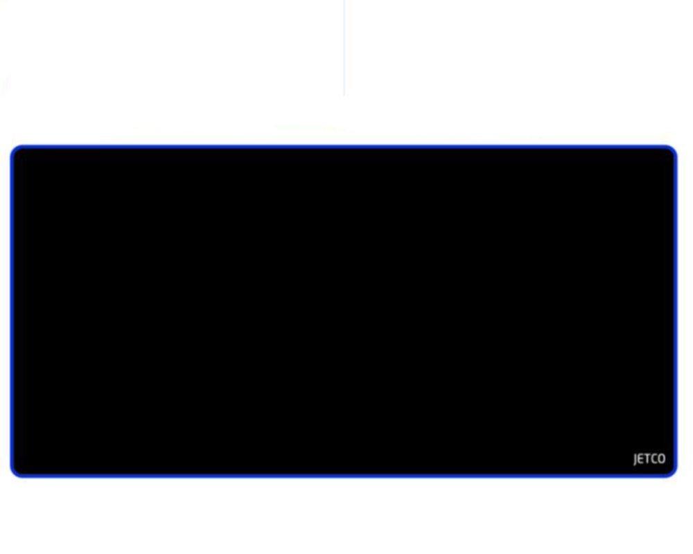 JETCO 永遠の定番モデル ブランド マウスパッド 限定特価 800mm×400mm ブラック 4サイズ 展開 オススメ Gaming MousePad シンプル PCアクセサリ PC ゲーミング