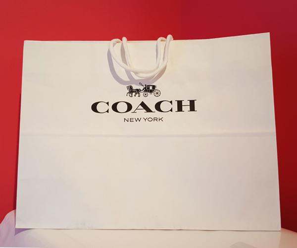 0b4210d646e3 楽天市場】【同時購入者様限定】プレゼントに!コーチ COACH 紙袋 ...