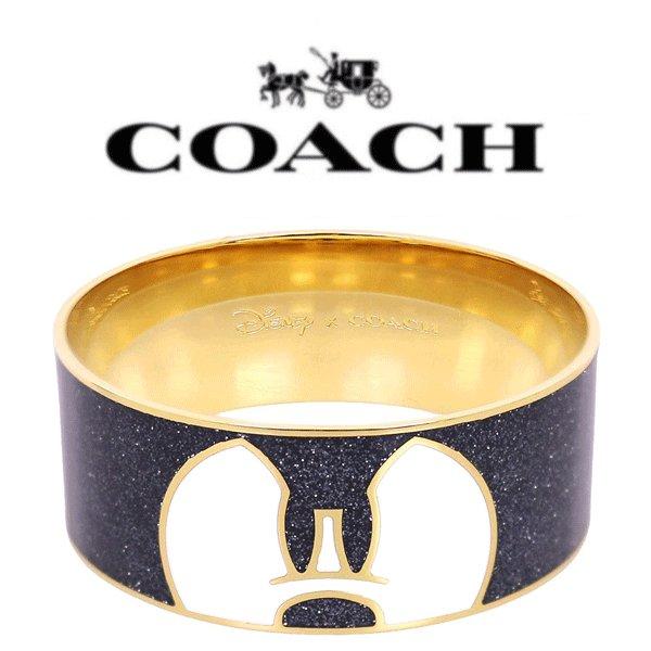 【送料無料】F86789 GDBLK コーチ COACH ブレスレット ブラック コーチ×ディズニー ブレスレット レディース アウトレット品