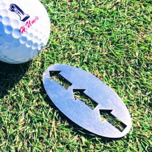 ゴルフ用品 定形外郵便物扱い品 矢印グリーンマーカー ゴルフマーカー ゴルフグリーンマーカー ゴルフラインマーカー 矢印付グリーンマーカー パター 新作入荷!! ゴルフ 激安超特価 ギフト 敬老の日