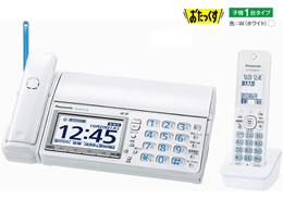 パナソニック/デジタルコードレス普通紙FAX 子機1台/KX-PD715DL-W