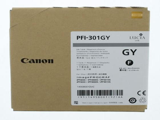キヤノン/インクタンク グレー PFI-301GY/1495B001