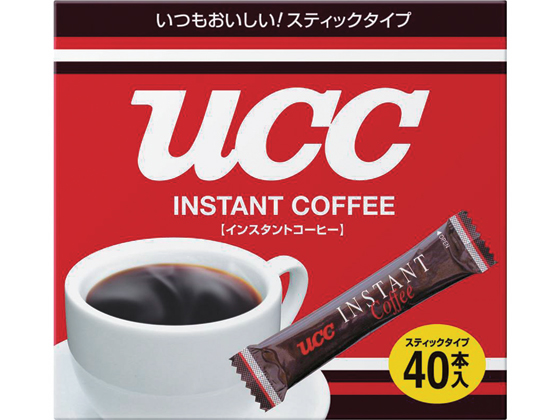 税込1万円以上で送料無料 UCC メーカー再生品 40本入 インスタントコーヒースティック 永遠の定番モデル