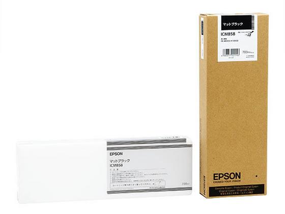 エプソン/インクカートリッジ マットブラック 700ml/ICMB58