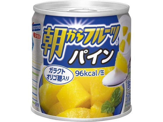 日本最大級の品揃え 税込1万円以上で送料無料 はごろもフーズ 190g 朝からフルーツパイン 人気
