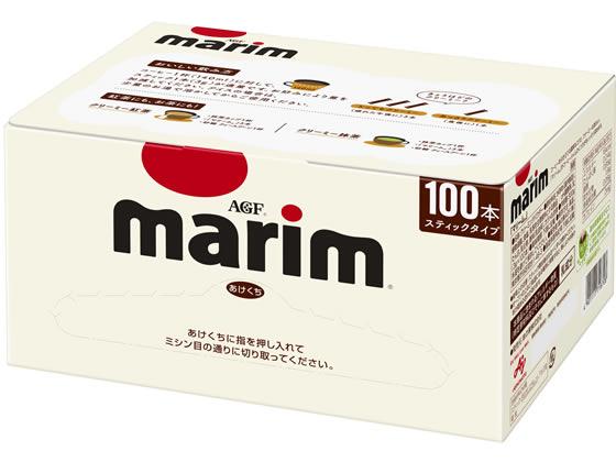 税込1万円以上で送料無料 AGF 100P マリームスティック 輸入 開催中