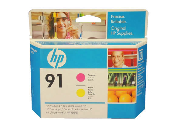 HP/プリントヘッド マゼンタ/イエロー/HP91(C9461A)