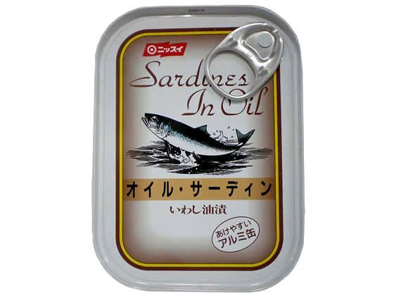 売り込み 予約販売品 税込1万円以上で送料無料 日本水産 オイルサーディン 110g