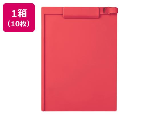 税込1万円以上で送料無料 セキセイ クリップボード A4タテ ご注文で当日配送 10枚 ピンク 短辺とじ スピード対応 全国送料無料