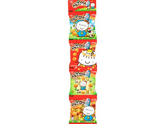 ギフト 税込1万円以上で送料無料 限定モデル 亀田製菓 こつぶっこ 4連 15g×4袋