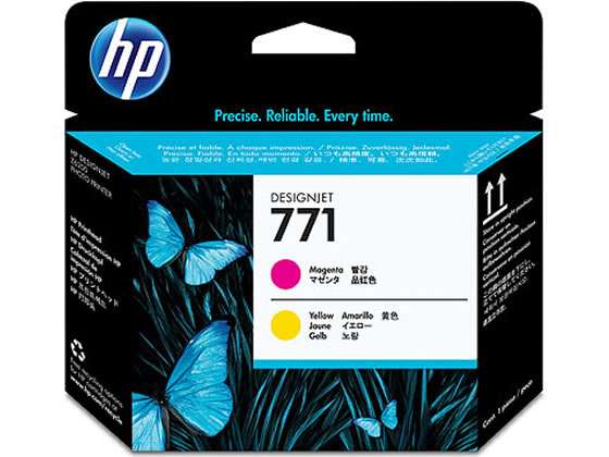 HP/HP771 プリントヘッド マゼンタ/イエロー/CE018A