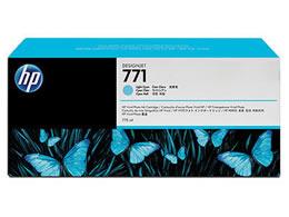 HP/HP771 インクカートリッジ ライトシアン/CE042A
