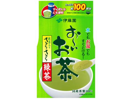 伊藤園/お〜いお茶 抹茶入りさらさら緑茶80g