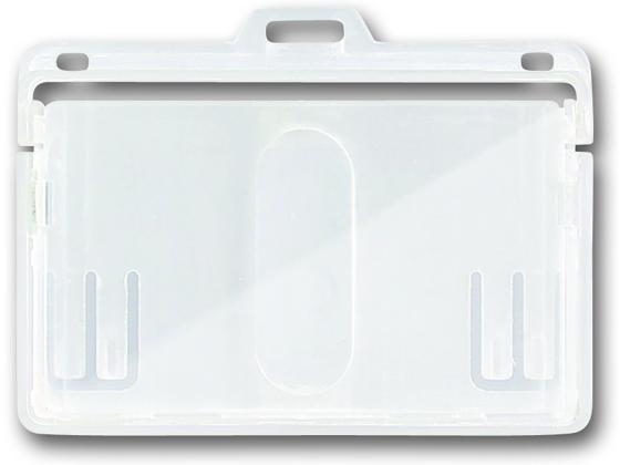 税込1万円以上で送料無料 ソニック 店舗 メーカー直送 IDカード用表示面ハード NF-573-1 2枚収納タイプ 1枚