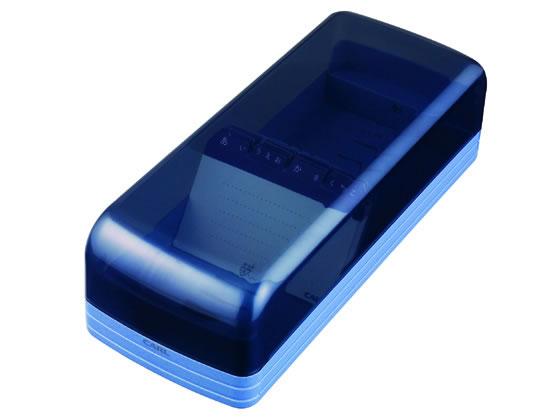 税込1万円以上で送料無料 入手困難 カール事務器 名刺整理器 セール特価品 NO870E-B ブルー 800名収容