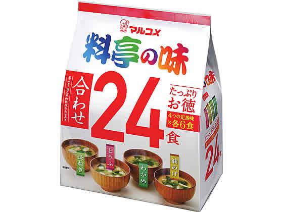 税込1万円以上で送料無料 贈与 マート マルコメ たっぷりお徳 料亭の味 24食
