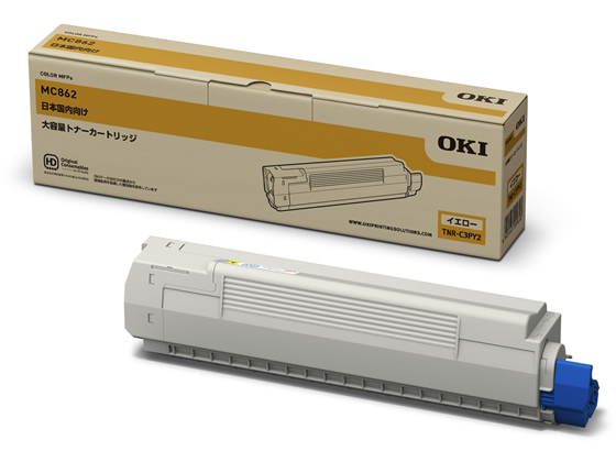 OKI/大容量トナーカートリッジ イエロー/TNR-C3PY2