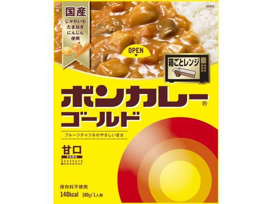 【税込1万円以上で送料無料】 大塚食品/ボンカレーゴールド甘口180g