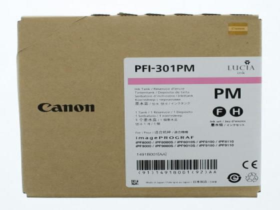 キヤノン/インクタンク フォトマゼンタ PFI-301PM/1491B001