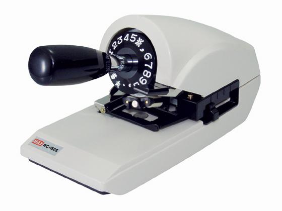 マックス/ロータリーチェックライタ RC-150S/RC90005