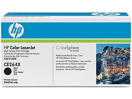 HP/HP646X プリントカートリッジ 黒/CE264X