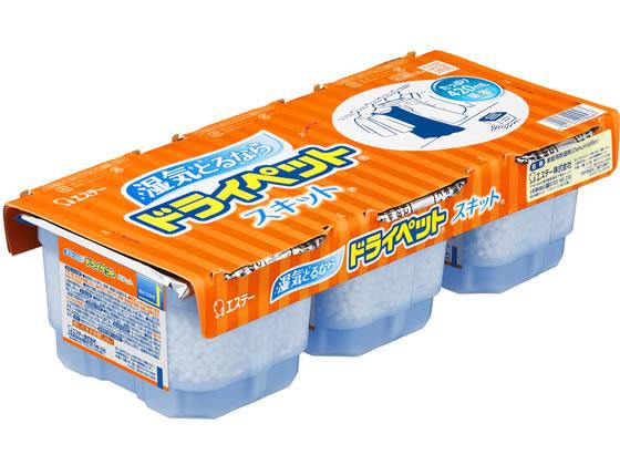 【税込1万円以上で送料無料】 エステー/ドライペット スキット 3個パック
