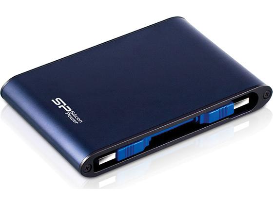 シリコンパワー/ポータブルHDD 1TB/SP010TBPHDA80S3B