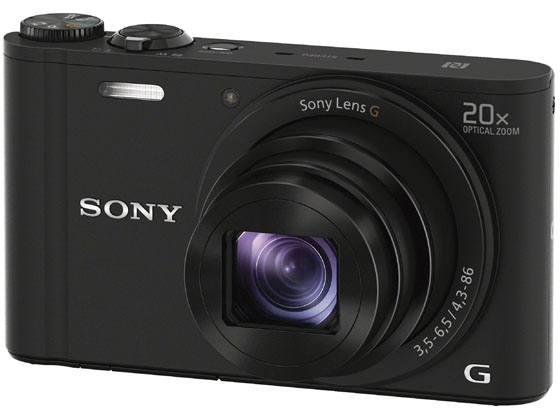 ソニー/デジタルスチルカメラ サイバーショット ブラック/DSC-WX350 B