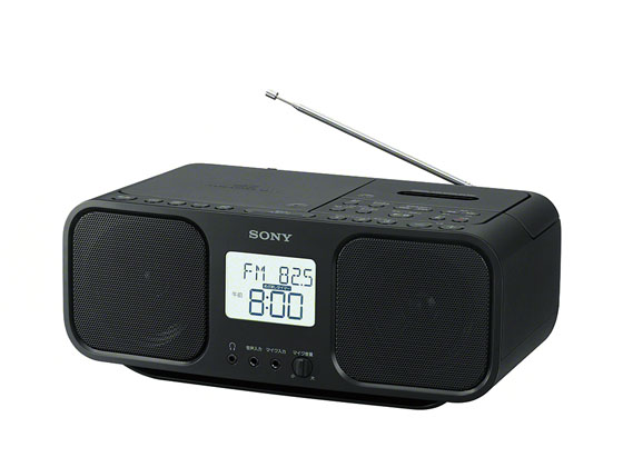 ソニー/CDラジカセ ブラック/CFD-S401B
