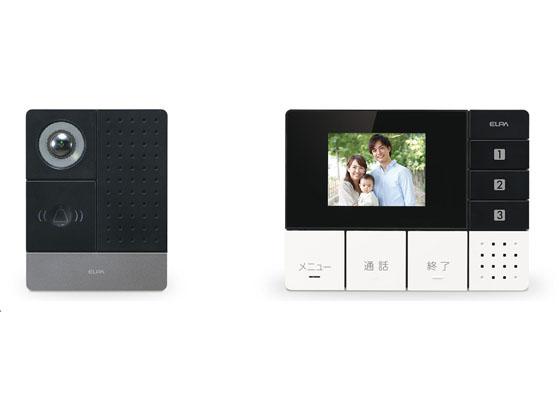 朝日電器/ワイヤレステレビドアホン モニターセット/DHS-SM2030