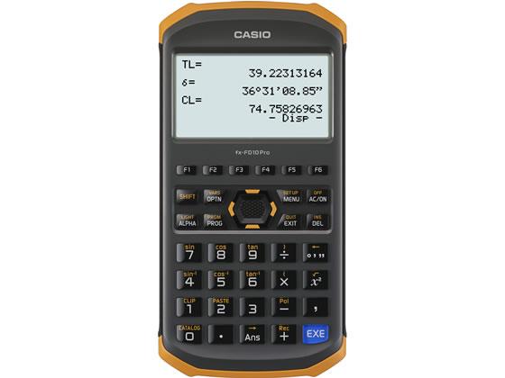 カシオ計算機/土木測量専業電卓/fx-FD10 Pro
