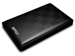 シリコンパワー/ポータブルHDD 1TB/SP010TBPHDD03S3K
