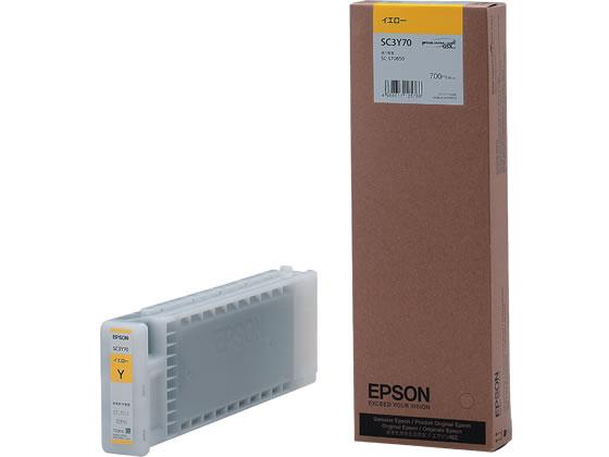 エプソン/インクカートリッジ イエロー/SC3Y70