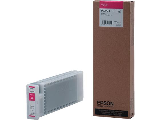 エプソン/インクカートリッジ マゼンタ/SC2M70