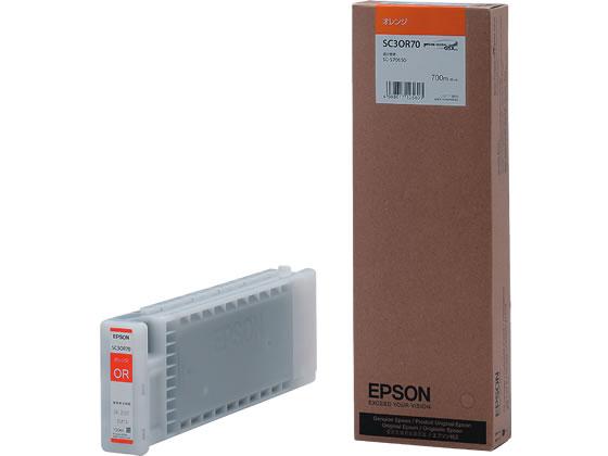 エプソン/インクカートリッジ オレンジ/SC3OR70