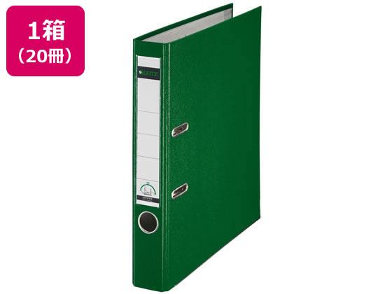 ライツ/レバーアーチファイル A4タテ 背幅55mm グリーン20冊/1015-50-55