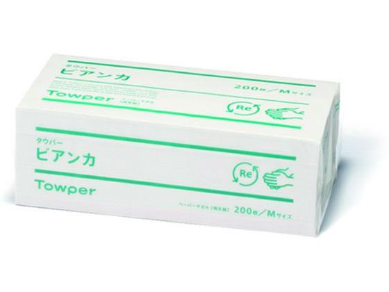 メーカー公式 ランキングTOP10 税込1万円以上で送料無料 クレシア タウパービアンカM200枚