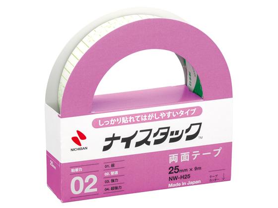 【税込1万円以上で送料無料】 ニチバン/両面テープ しっかり貼れてはがしやすい 25mm