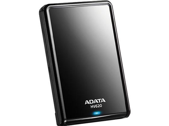 ADATA/USB3.0 ポータブルHDD 1TB ブラック/AHV620S1TU3CBK