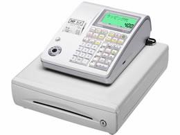 カシオ/電子レジスター 10部門 ホワイト/TE-400-WE