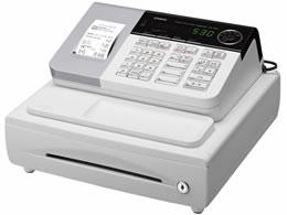 カシオ/電子レジスター 8部門 ホワイト/SE-S30-WE