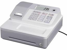 カシオ/電子レジスター 4部門 ホワイト/SE-G2-WE
