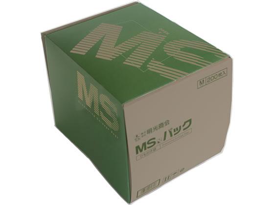 明光商会/MSシュレッダー用袋 透明(ひも付き)200枚/MSパックM