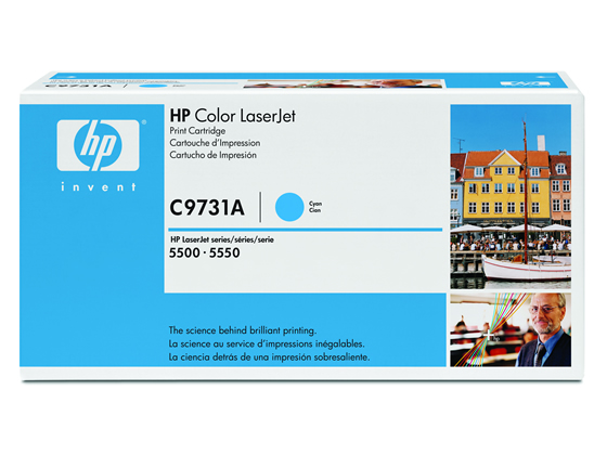 HP/C9731A シアン 純正