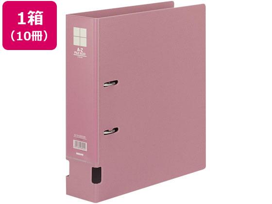 コクヨ/AZファイル エコ A4タテ 背幅73mm ピンク 10冊/フ-F290NP