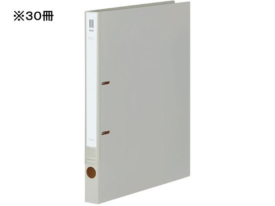 コクヨ/リングファイルNEOS A4タテ 背幅27mm オフホワイト 30冊