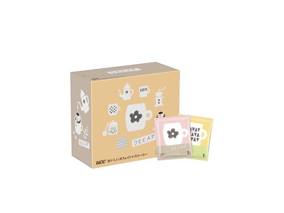 UCC/おいしいカフェインレスコーヒー ドリップコーヒー 50P